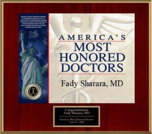 America's Top Docs 2020 Award
